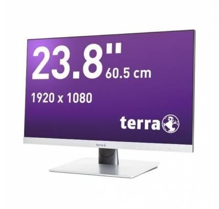 TERRA LED 2462W silber DP/HDMI GREENLINE PLUS